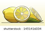 vector simple illustration... | Shutterstock .eps vector #1451416034