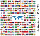 complete set of flags of the... | Shutterstock .eps vector #14514295