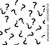 question mark pattern. question ...   Shutterstock .eps vector #1451498714