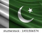 Realistic Flag Of Pakistan On...