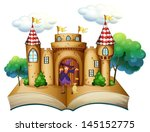 illustration of a storybook... | Shutterstock .eps vector #145152775