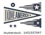 set symbols usa. vintage retro...   Shutterstock .eps vector #1451557097