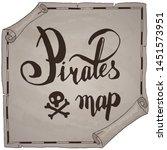 Pirates Map Hand Drawn Sign...