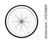 bicycle wheel. fixed gear | Shutterstock . vector #145158805