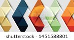 abstract geometric background.... | Shutterstock .eps vector #1451588801