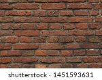 A Close Up Picture Of A Brick...