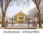 St. Boniface Cathedral Winter...