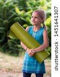 little cute smiling caucasian...   Shutterstock . vector #1451641307