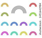 rainbow multi color icon....