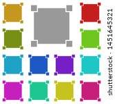 select  text multi color icon....