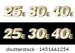 25  30  40  twenty five  thirty ... | Shutterstock . vector #1451661254
