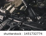 military equipman and weapons...   Shutterstock . vector #1451732774