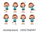 kid child expression vector... | Shutterstock .eps vector #1451766947