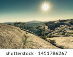 granite rock formations at bald ... | Shutterstock . vector #1451786267