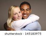 happy couple   Shutterstock . vector #145183975