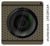 camera lens shutter  camera... | Shutterstock .eps vector #145184164
