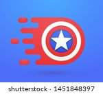 fast red shield. template...