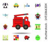 cartoon fire truck car toy...