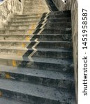 the stairs walk up overpass | Shutterstock . vector #1451958587