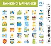 banking and finance flat icon... | Shutterstock .eps vector #1451998787