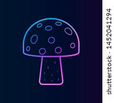 mushroom nolan icon. simple...