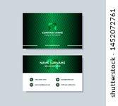 creative modern green business... | Shutterstock .eps vector #1452072761