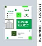annual report brochure flyer... | Shutterstock .eps vector #1452072911