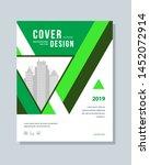 annual report brochure flyer... | Shutterstock .eps vector #1452072914
