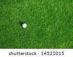 golf ball on the green | Shutterstock . vector #14521015