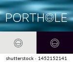 porthole icon  logo  monoline... | Shutterstock .eps vector #1452152141