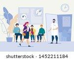 bright flyer oculist eye...   Shutterstock .eps vector #1452211184