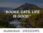 motivational quotes design.  ... | Shutterstock . vector #1452222491