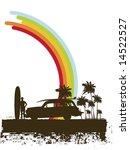 Grunge Surf Illustration