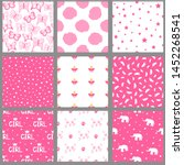 Seamless Patterns For Girls....