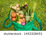 eco friendly product packaging... | Shutterstock . vector #1452328451