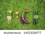 eco friendly product packaging... | Shutterstock . vector #1452328577