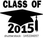 mortar board graduation cap for ... | Shutterstock .eps vector #145234057