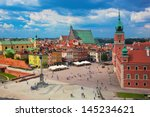 Old Town In Warsaw  Poland. Th...