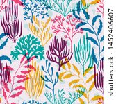 Coral Reef Seamless Pattern....