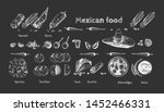 vector illustration of mexican... | Shutterstock .eps vector #1452466331