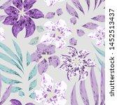 beautiful softness tropical... | Shutterstock .eps vector #1452513437