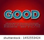 modern retro text style for... | Shutterstock .eps vector #1452553424