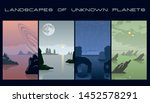Landscapes Of Unknown Planets...