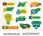 big sale banner set ... | Shutterstock .eps vector #1452590447