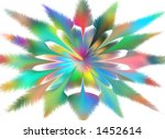 abstract impression of colorful ... | Shutterstock . vector #1452614