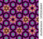 detailed seamless pattern... | Shutterstock . vector #1452616664