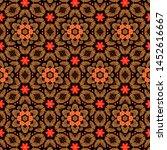 detailed seamless texture... | Shutterstock . vector #1452616667