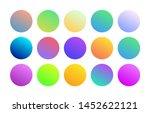 gradient holographic round...