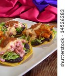 meat mexican  tacos and... | Shutterstock . vector #14526283