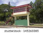 Railway Signal Box At Hua Hin...
